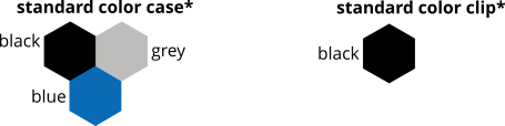 standaard kleuren Xtrabag koffers